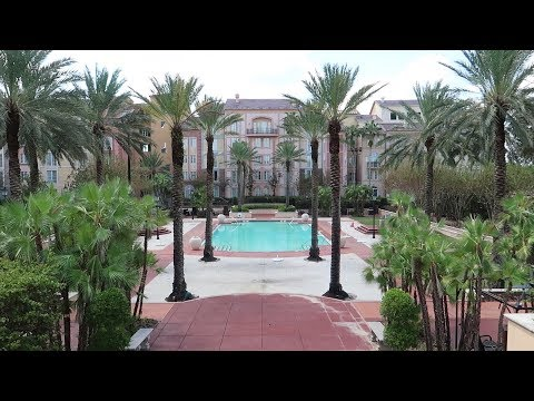 Portofino Bay Resort Tour At Universal Orlando | Hotel Grounds, Restaurants & Room Tour
