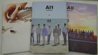 Video Unboxing Seventeen 세븐틴 4th Mini Album Al1 (All Editions) download MP3, 3GP, MP4, WEBM, AVI, FLV Agustus 2018