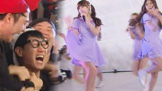 《FUNNY》 Running Man 런닝맨|깜짝 축하공연 '여자친구' 등장에 삼촌팬들 '열광의 도가니' EP404 20151108