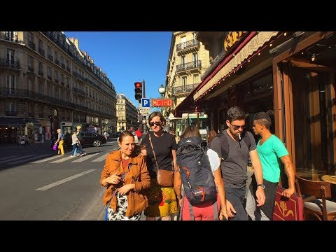 Walking Paris's Streets : Shops, Saint-Sulpice Church, and Luxembourg Palace Senate