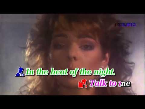 [Karaoke HD] IN THE HEAT OF THE NIGHT - Sandra