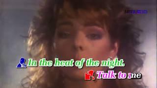 [Karaoke HD] IN THE HEAT OF THE NIGHT - Sandra