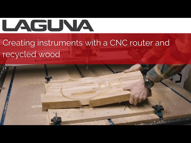 Creating Instruments with a CNC Router and Recycled Wood | Customer Stories