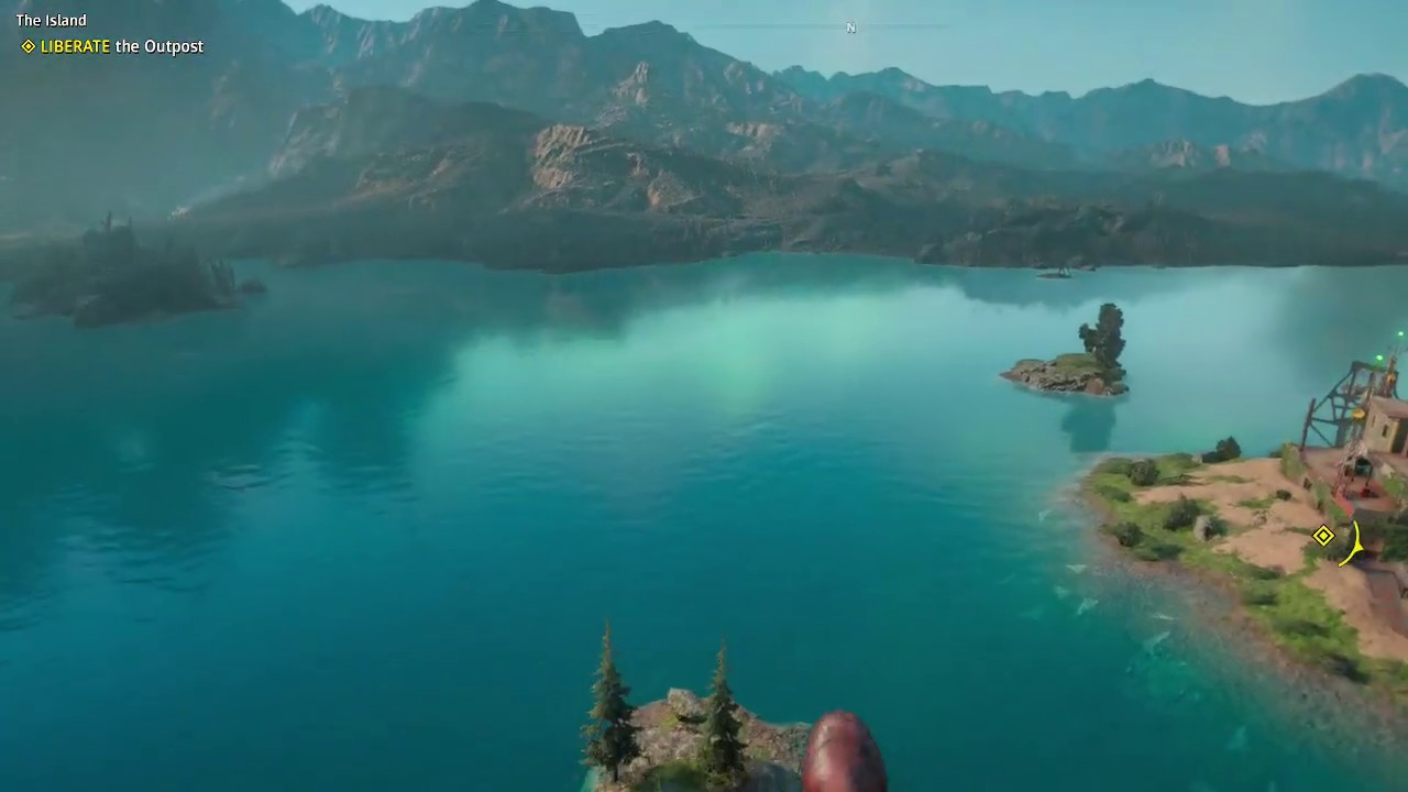 Far Cry New Dawn The Island 3 Stars Undetected Liberate The Outpost With Nana Companion Youtube