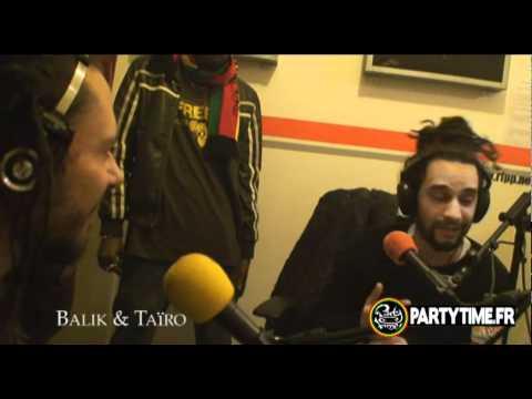 TAÏRO, BALIK (Danakil) & NATTY JEAN - Freestyle at Party Time Radio Show 2011