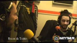 TAÏRO, BALIK (Danakil) & NATTY JEAN - Freestyle at Party Time Radio Show 2011