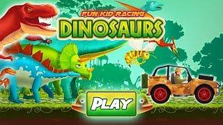 Fun Racing Dinosaurs Game 1 - TniyLab Games - Bıcır Gane Channel
