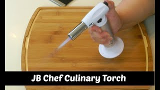 How to Fill a Creme Brulee Torch ~ JB Chef Culinary Torch Unboxing ~ Amy Learns to Cook