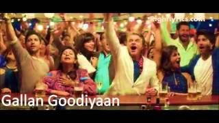Gallan Goodiyaan Dil Dhadakne Do Shankar Mahadevan,Sukhwinder Singh,Farhan Akhtar,Yashita Sharma,