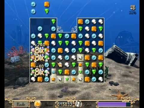 Jewels of Atlantis | Windows-PC | Gameplay: Quest Modus | Level 1-4