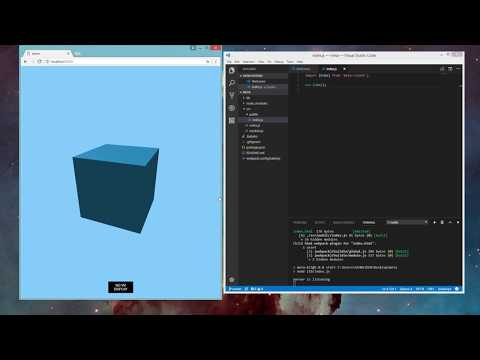 MetaJS - Tutorial For Non-Coders - Create Your VR Space Without Any Coding Knowledge (Windows)