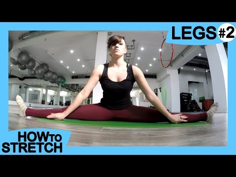 HOW TO STRETCH your LEGS #2   for Gymnastics & Contortion   Exercises for Flexibility