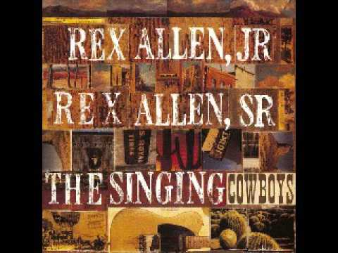 Rex Allen Jr and Sr Yippi cry yi