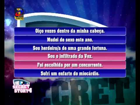 os segredos secret story casa dos segredos 4 3 secretstory pt youtube. Black Bedroom Furniture Sets. Home Design Ideas