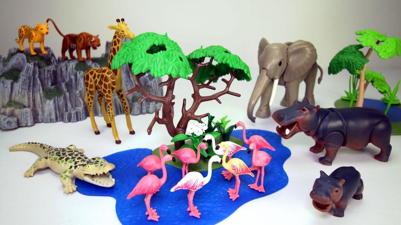 Safari Toys For Boys : Playmobil zoo jungle safari animals playsets collection fun toys