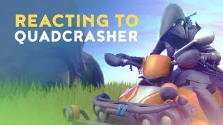 DAKOTAZ REACTING TO NEW QUADCRASHER - (Fortnite Battle Royale - Dakotaz)