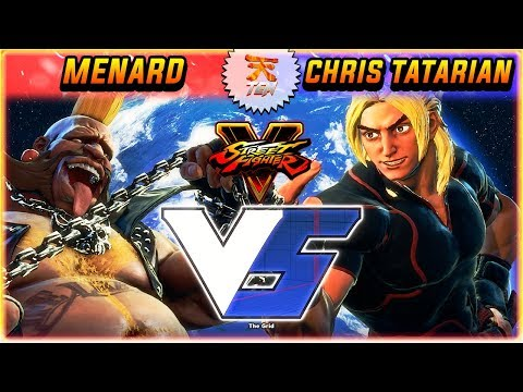 SFV/SF5 ✪ MENARD (CAPCOM CUP CHAMPION) VS CHRIS TATARIAN | FIRST TO 3 - STREET FIGHTER V