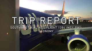 HD | Trip Report | Southwest Airlines Boeing 737-800 Economy (New Orleans to Baltimore)