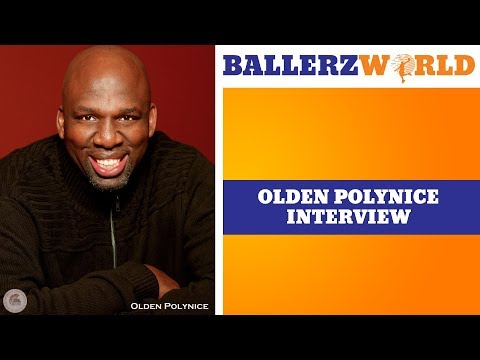 NBA vet Olden Polynice talk about athlete activism and Kapernick