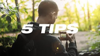 How to Shoot Photos in HARSH Sunlight!