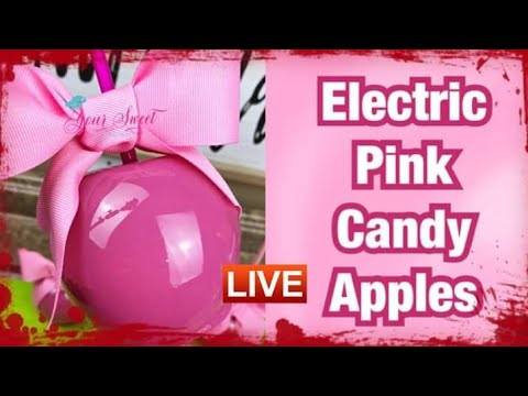 HOW TO ACHIEVE ELECTRIC PINK CANDY APPLES