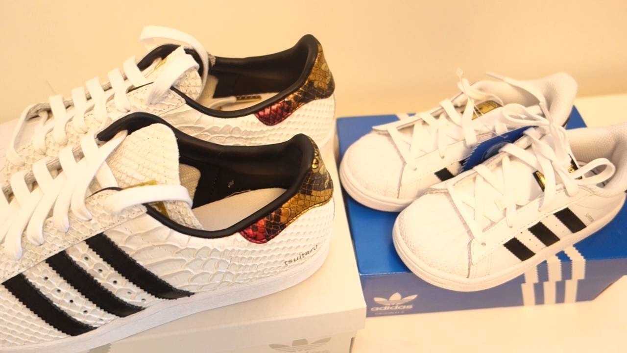 Unboxing Matching Mommy and Baby Superstar Shoes + Review and Customizing  Tutorial for MI SUPERSTAR☆ - YouTube
