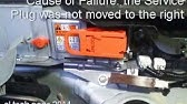 Prius Service Safety Plug Installation P0A0D - YouTube