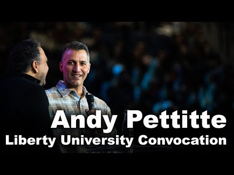 Andy Pettitte - Liberty University Convocation - YouTube