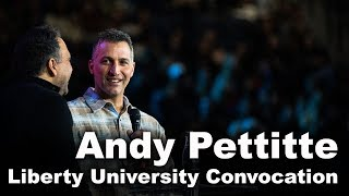Andy Pettitte - Liberty University Convocation