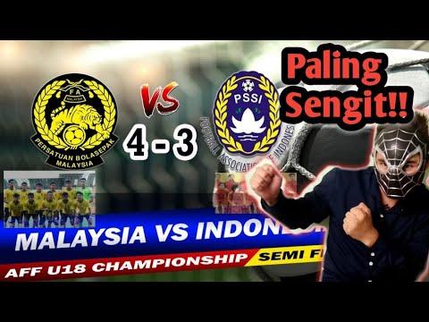 Download Malaysia vs Indonesia  AFF U18 Semi Final/Reaction