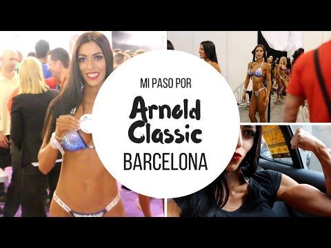 Arnold Classic Barcelona 2016 | Mi primera competición Arnold Classic!