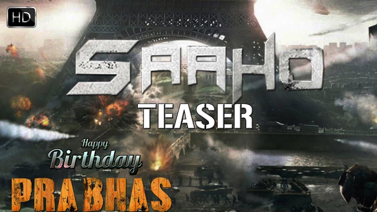 Saaho Teaser Prabhas Birthday Special HD