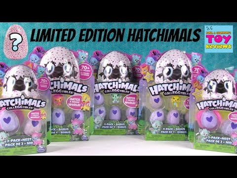 Hatchimals Colleggtibles Surprise Egg 2 & 4 Pack Opening Limited Edition Found   PSToyReviews