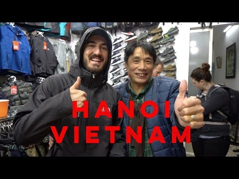 EXPLORING THE BUSY CITY OF HANOI | Vietnam 2018