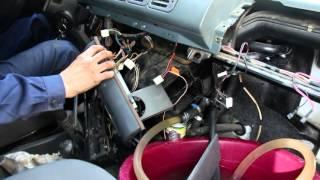 видео Не работает печка УАЗ (Буханка, Хантер, Патриот): ремонт радиатора и замена отопителя (схема)