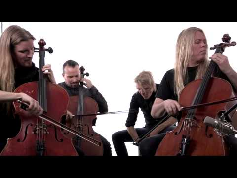 Apocalyptica perform 'Path' in - studio  NP Music