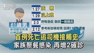 【TVBS新聞精華】20200217 首例死亡追司機接觸史 家族聚餐感染 再增2確診