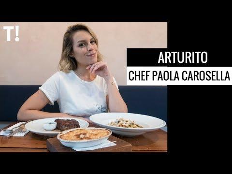 VISITEI O RESTAURANTE DA PAOLA CAROSELLA - ARTURITO  Go Deb