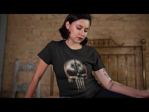 612355687fe8b New Orleans Saints The Punisher Mashup Football Shirts - YouTube