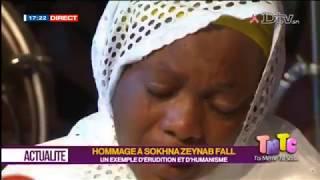 TMTC HOMMAGE A ADJA SOKHNA ZEYNAB FALL du 2018-10-08