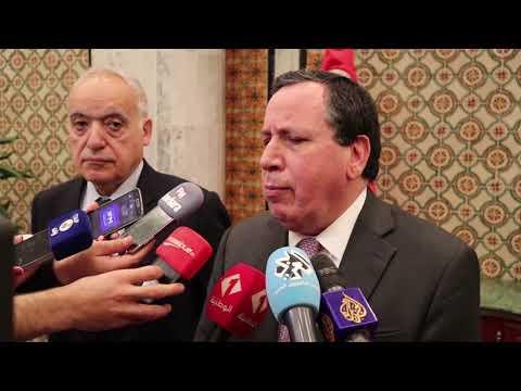 تصريح مترجم للانڨليزية لوزير الشؤون الخارجية ومبعوث الأمم المتحدة إلى ليبيا