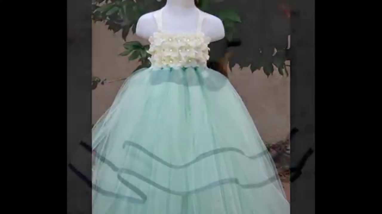 Flower Girls Dress-How to make Flower Girl Dress-Free Shipping Ball ...