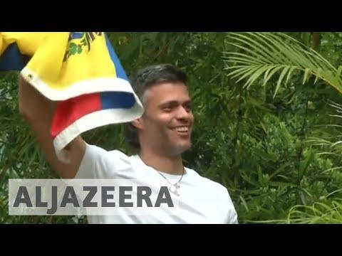 Venezuelan opposition leader freed from jail, put under house arrest