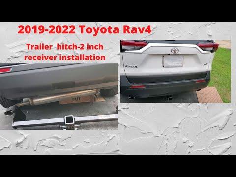 2019 Toyota Rav4 Hitch Installation.