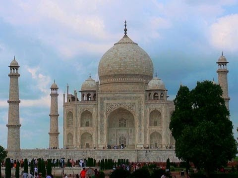 The Taj Mahal, a Magnificent Monument