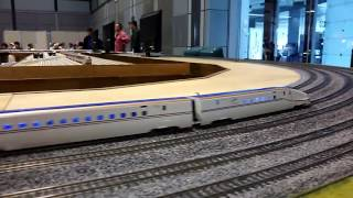 Oゲージ大レイアウト(新幹線、カシオペア、トワイライト…) @日本鉄道模型ショウ