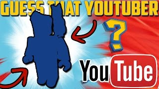 CAN YOU GUESS THE YOUTUBERS?! (GUESS THE YOUTUBER CHALLENGE) Roblox