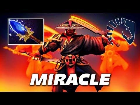 Miracle Aghanim's Scepter Ember Spirit - Dota 2 Pro Gameplay