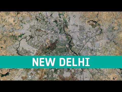 Earth from Space: New Delhi, India