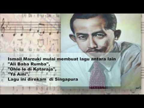 ISMAIL MARZUKI Komponis Pencipta Lagu  Pahlawan Nasional